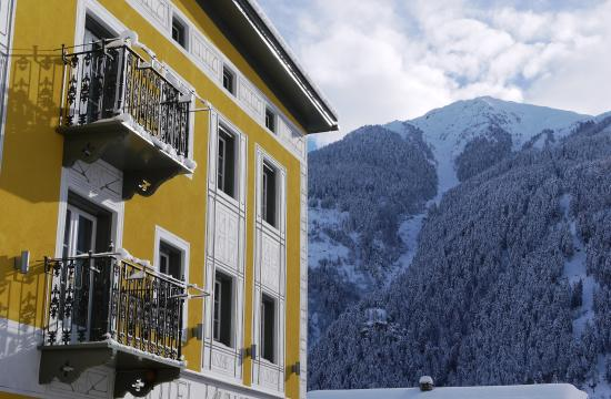 Hotel Münsterhof: Winter in Müstair