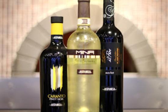 Astoria Restaurant: Wines at Astoria