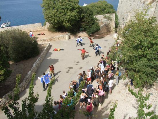 Musee de la Mer : entrée fort royal