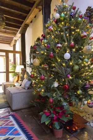 Hotel Posada El Zaguán: Christmas decorations
