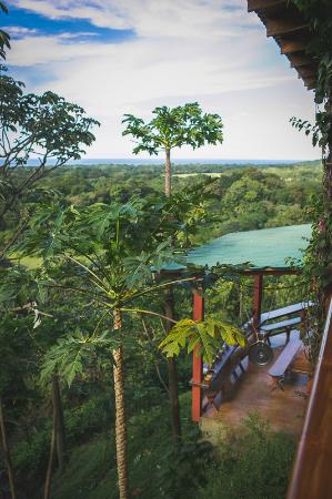 Costa Rica Yoga Spa: The view from our private room