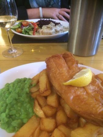 The Bowling Green Inn: best chips ever