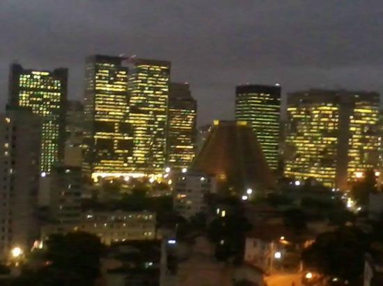 Rio Hostel & Suites Santa Teresa: Vista da sacada do hostel