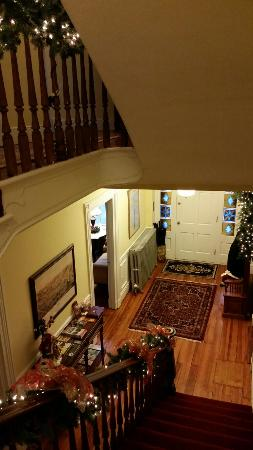 The Swope Manor Bed & Breakfast: Decorated for Christmas!