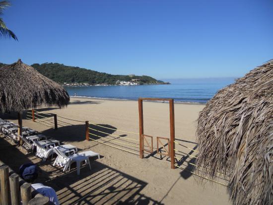 Las Cabanas del Capitan: Nice Beach Area