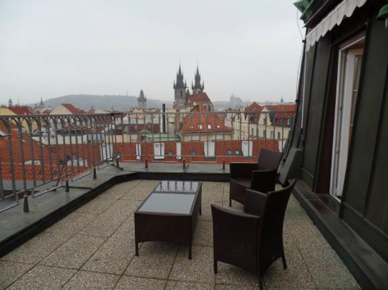 Grand Hotel Bohemia: Great View!