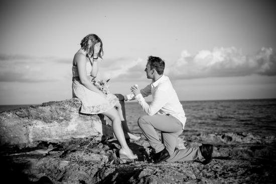 Occidental at Xcaret Destination: I said yes, as soon as I stopped crying!