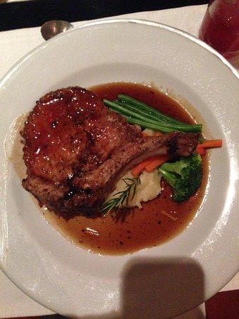 La Cumbre: Pork chop (massive portions!)