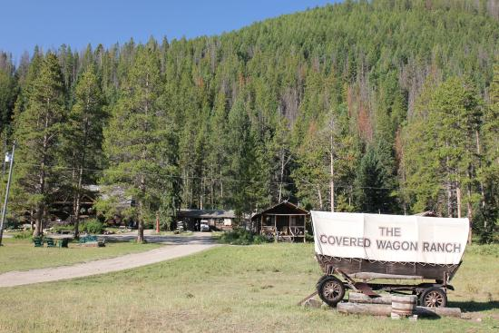 The ranch picture of covered wagon ranch gallatin gateway
