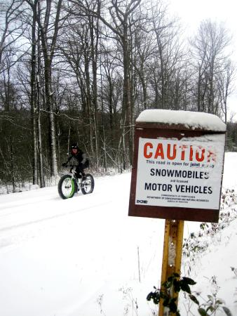 Huntingdon, PA: Snowmobile Trail Rides