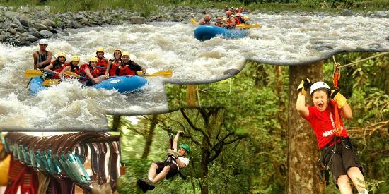 Rafting Orosi