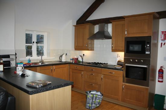 Norburton Hall: kitchen area