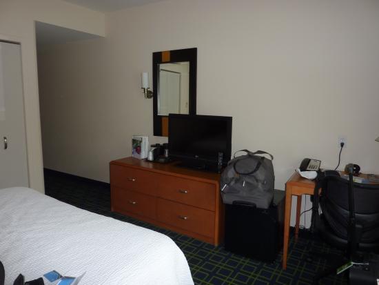 Fairfield Inn & Suites St. Augustine I-95 : chambre