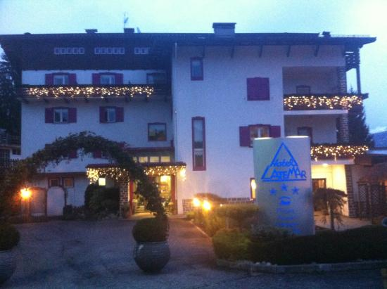 Hotel Latemar: welcome