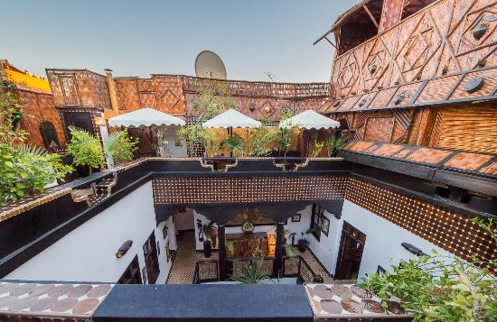 Coolest riad in marrakech picture of riad dar najat for Best riads in marrakesh