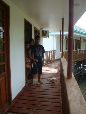 Nalusuan Island Resort: En las Cabañas