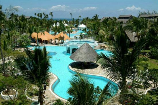 Mombasa Beach Hotel : Diani mombasa.