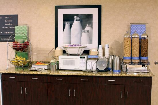 Hampton Inn by Hilton Kuttawa/Eddyville: We serve yogurt, skim, 2% milk and hardboiled eggs