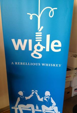 Cool logo for Wigle Whiskey