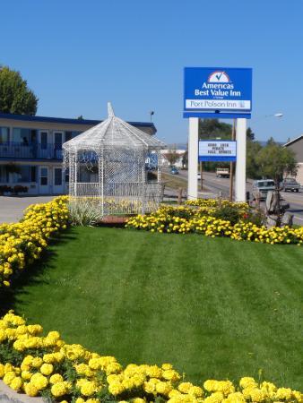 Americas Best Value Port Polson Inn: Sign Picture