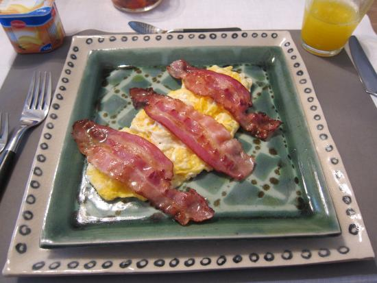 Bed & Breakfast Speelmansrei: Daily Breakfast eggs