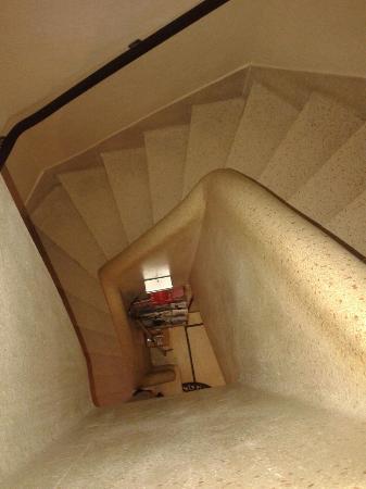 La Vieille Lanterne: Escaleras casi imposibles de transitar