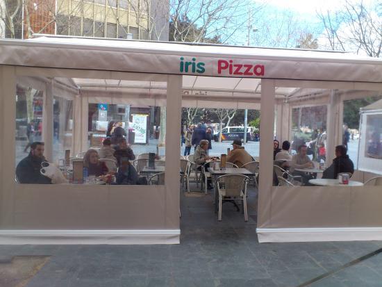 Terraza Cubierta Con Toldo Picture Of Iris Pizza Palma De