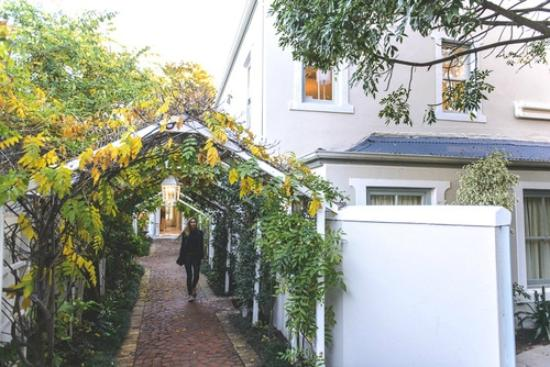 The Last Word Franschhoek: Love the romantic arches
