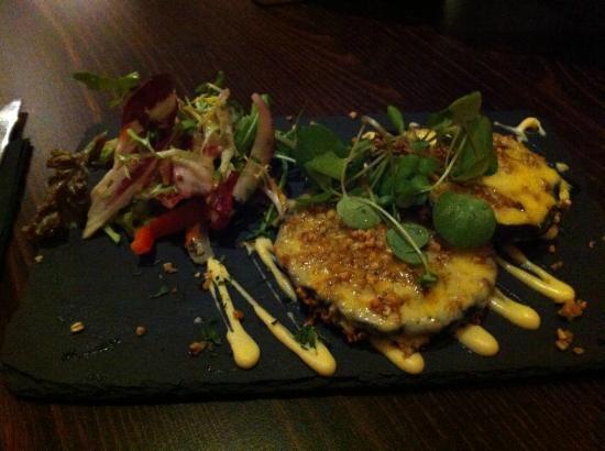 Lauriston Hotel: Portobello mushroom starter