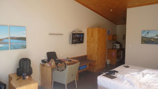 Waitomo Lodge: room