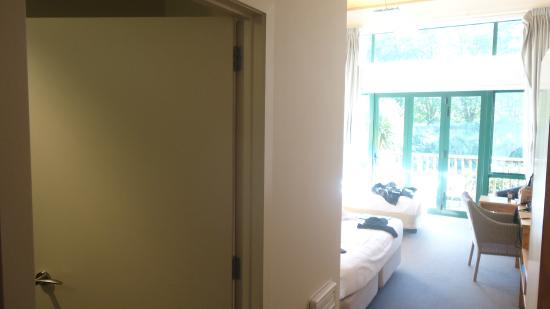 Waitomo Lodge: room