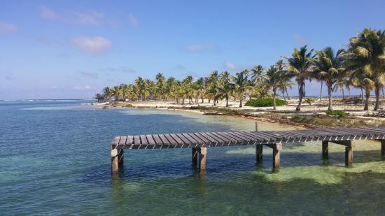 White Sands Dive Shop: Island of Half Moon Caye
