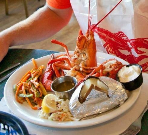 Tides Restaurant: phials first lobster