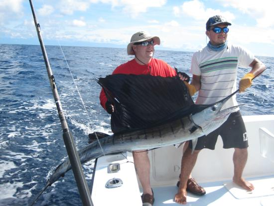 Quepos Fish Adventure Private Day Charters: Sailfish # 1
