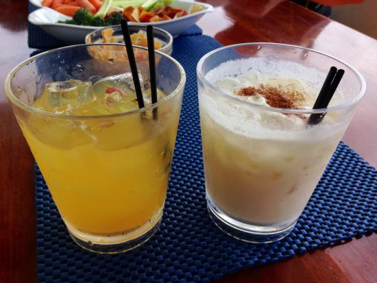 Second Wind Charters: Drinks