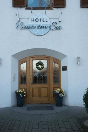Hotel Neuer am See: Welcome