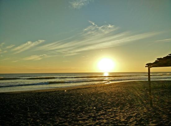Somar Surf Camp & Lodge : Vista al mar