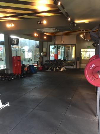 Palm Garden Hotel: Best gym setup by far!