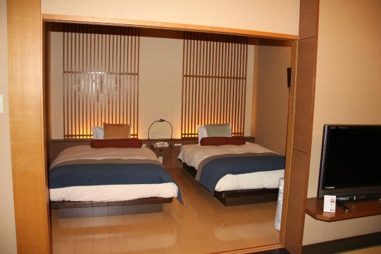 Hotel Kajikaso : Western beds