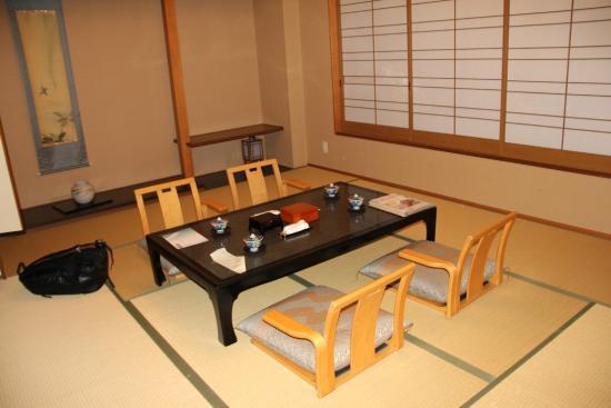 Hotel Kajikaso: Japanese seats