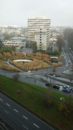 View from crowne plaza Lille