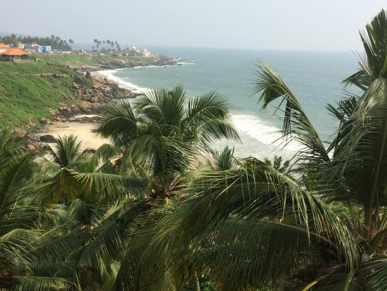 Vijay Varma Beach Resort: View from the balcony
