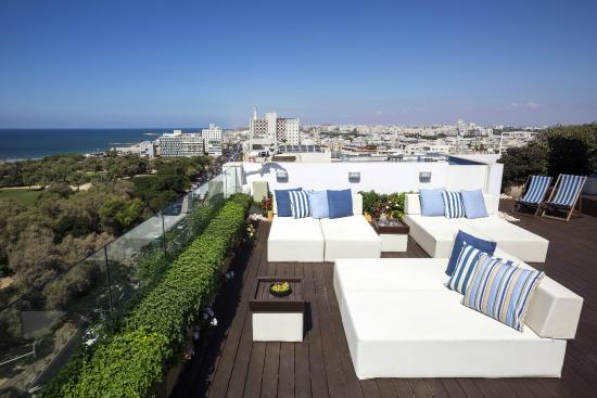 Melody Hotel   Tel Aviv - an Atlas Boutique Hotel: New Rooftop Patio of the Hotel