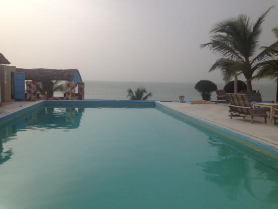 Le Warang Hotel : La piscine