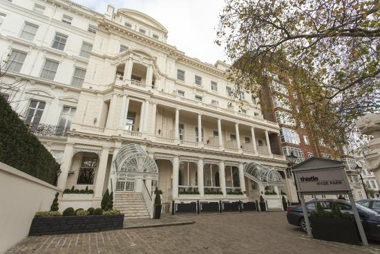 Thistle Hyde Park UPDATED 2017 Prices Hotel Reviews London