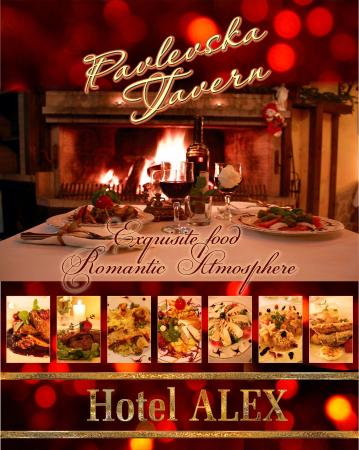 Hotel Alex: Exquisite Food in Romantic atmosphere !