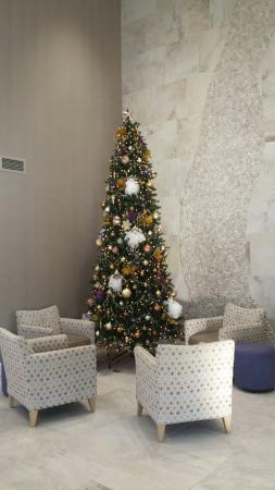 Comfort Inn Williamsburg Gateway: Beautiful Christmas Tree