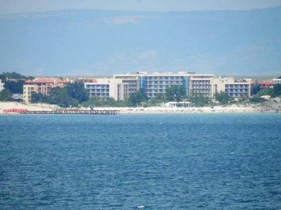 Tiara Beach: View fron the Sea