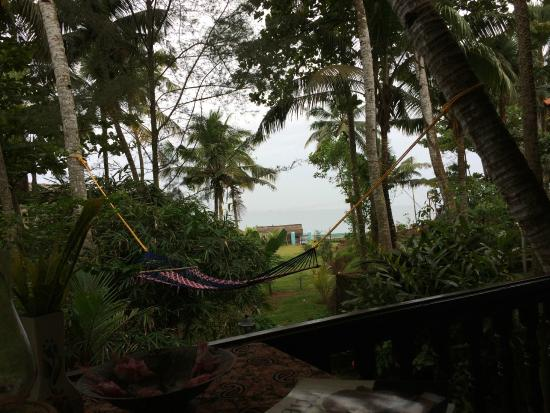 Varkala Marine Palace: View from our room