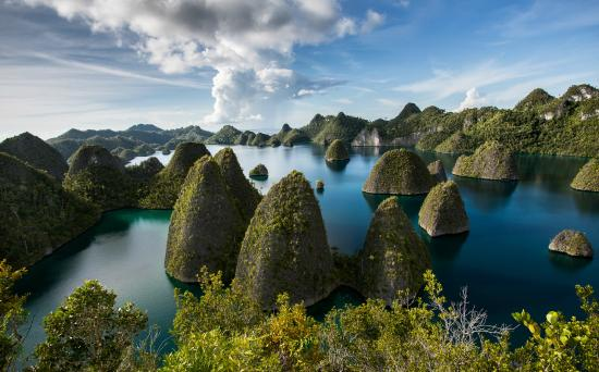 Raja Ampat, Indonesien: Breathtaking View from the Top